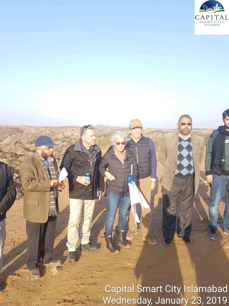 Visit of Master Planners and Designers of Cracknell for Capital Hills (ex-Pothohar Ranches) at Capital Smart City