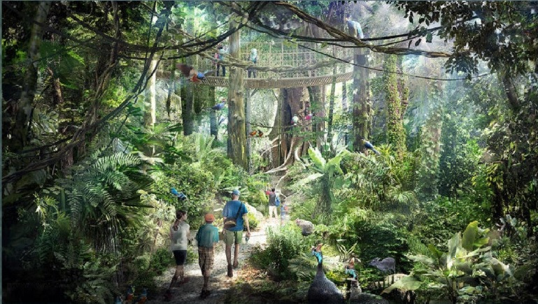 Themed Natural Park for Animals