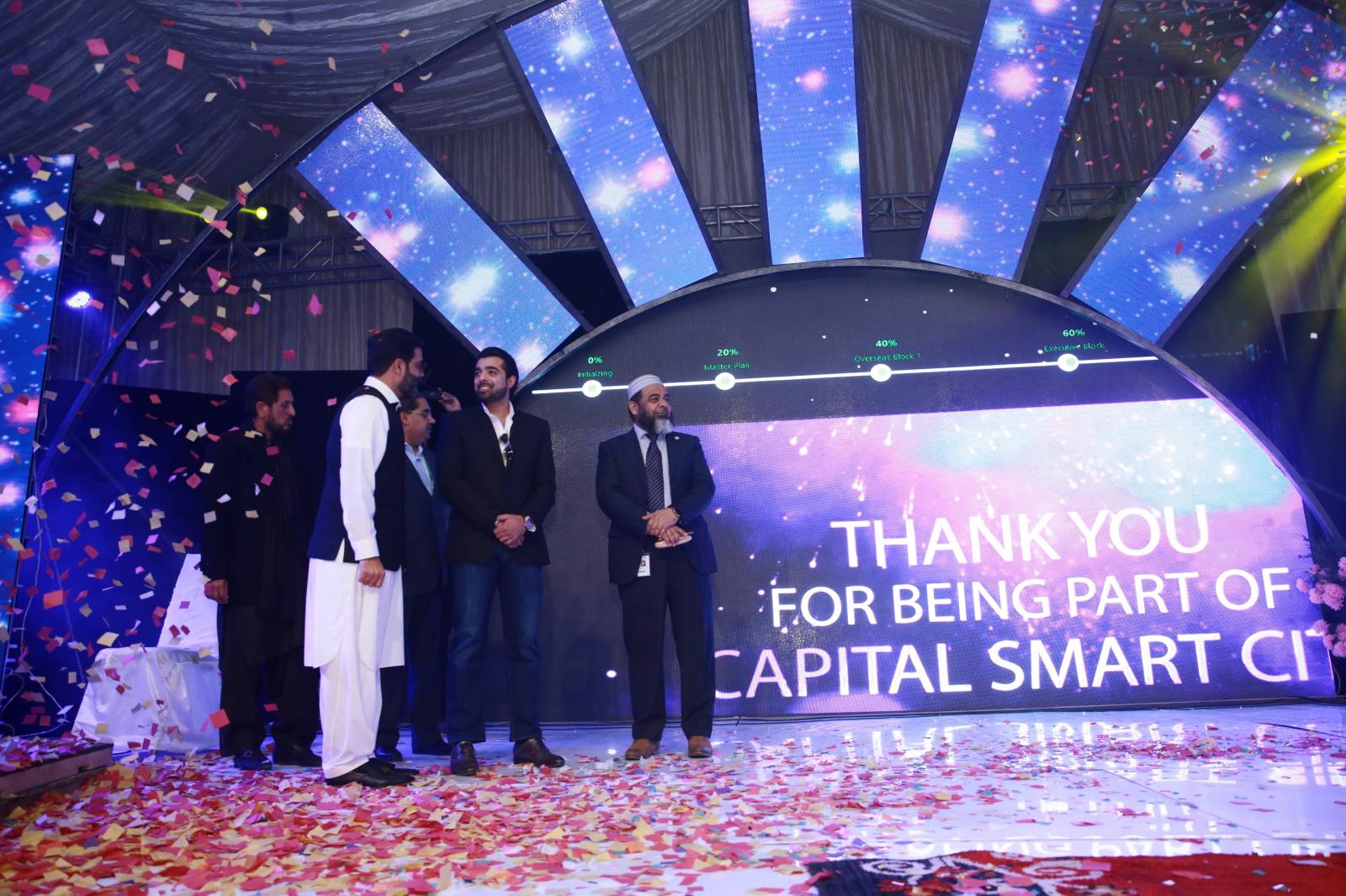 1st Balloting of Capital Smart City