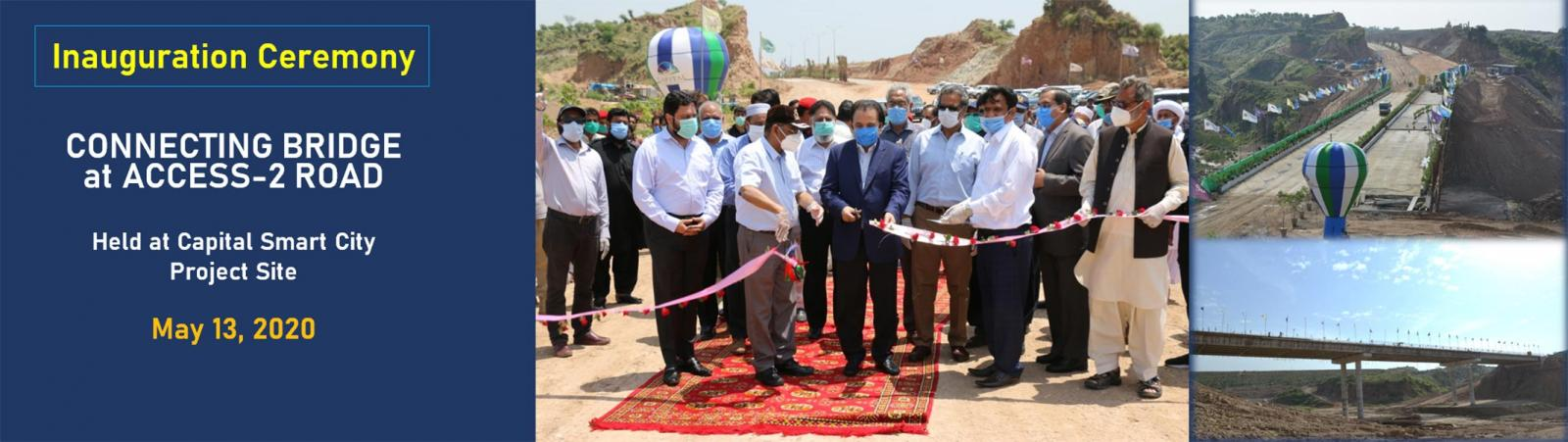 Inauguration of connecting Bridge at Access-2 Road