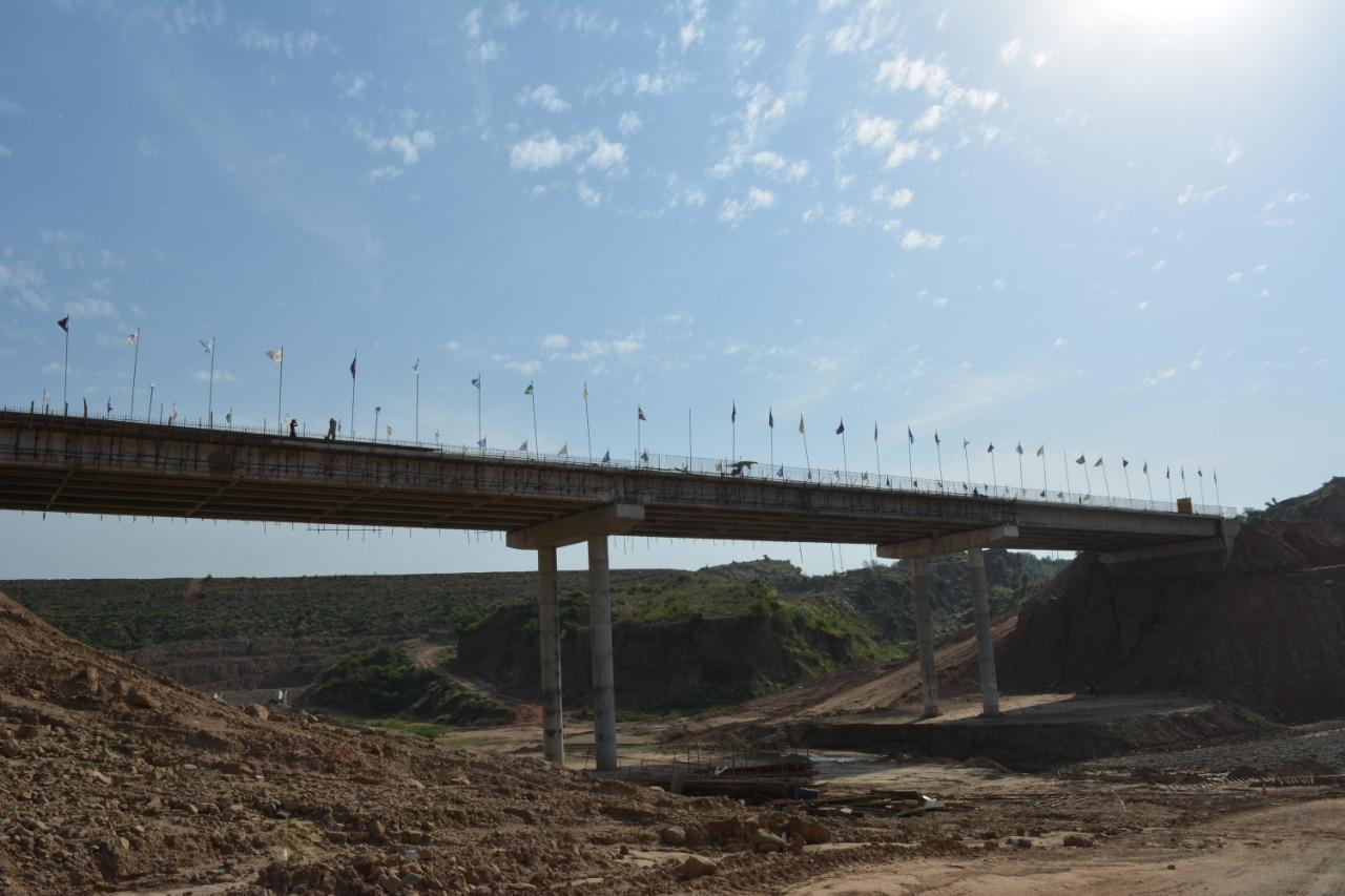 Inauguration of connecting Bridge at Access-2 Road