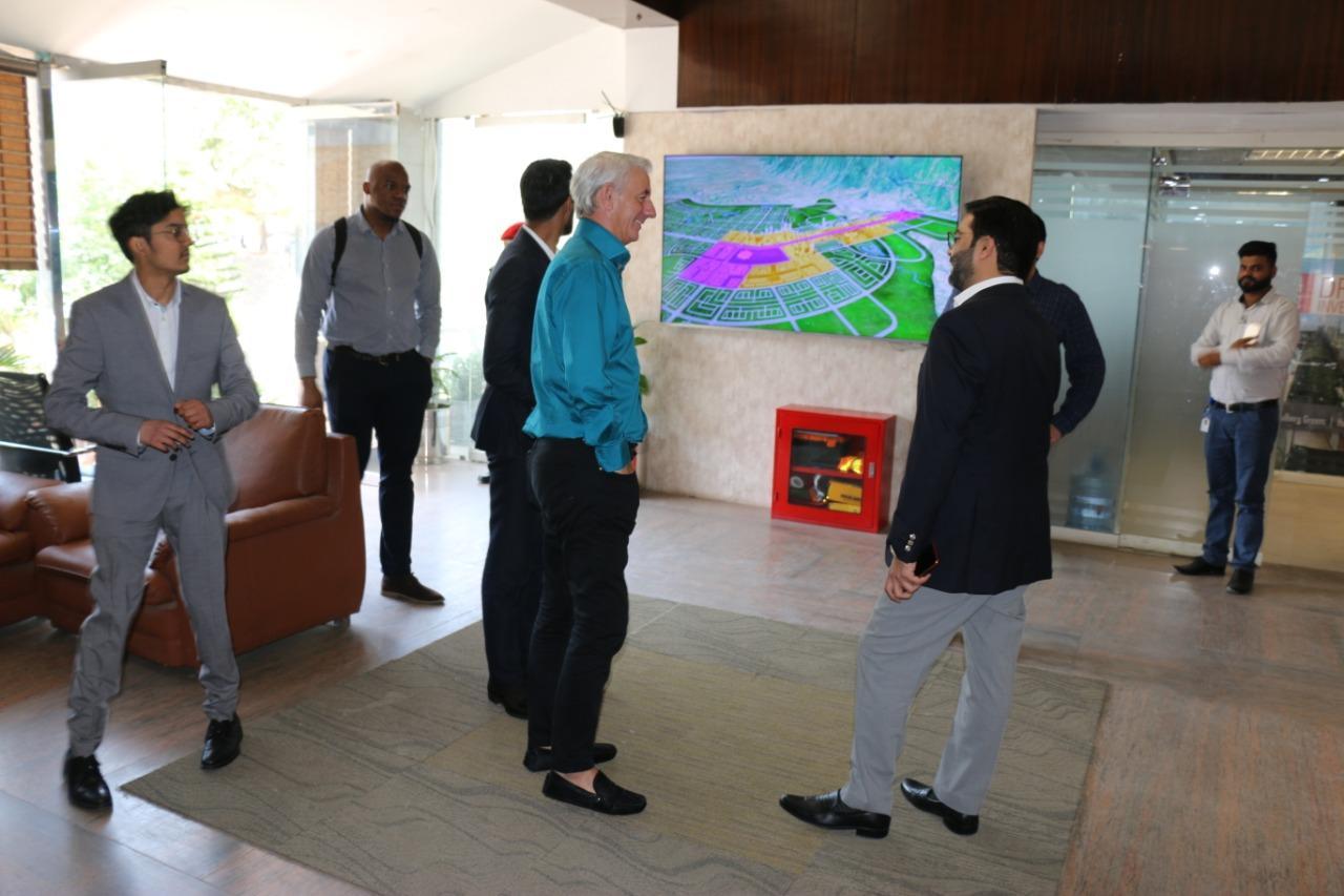 During visit