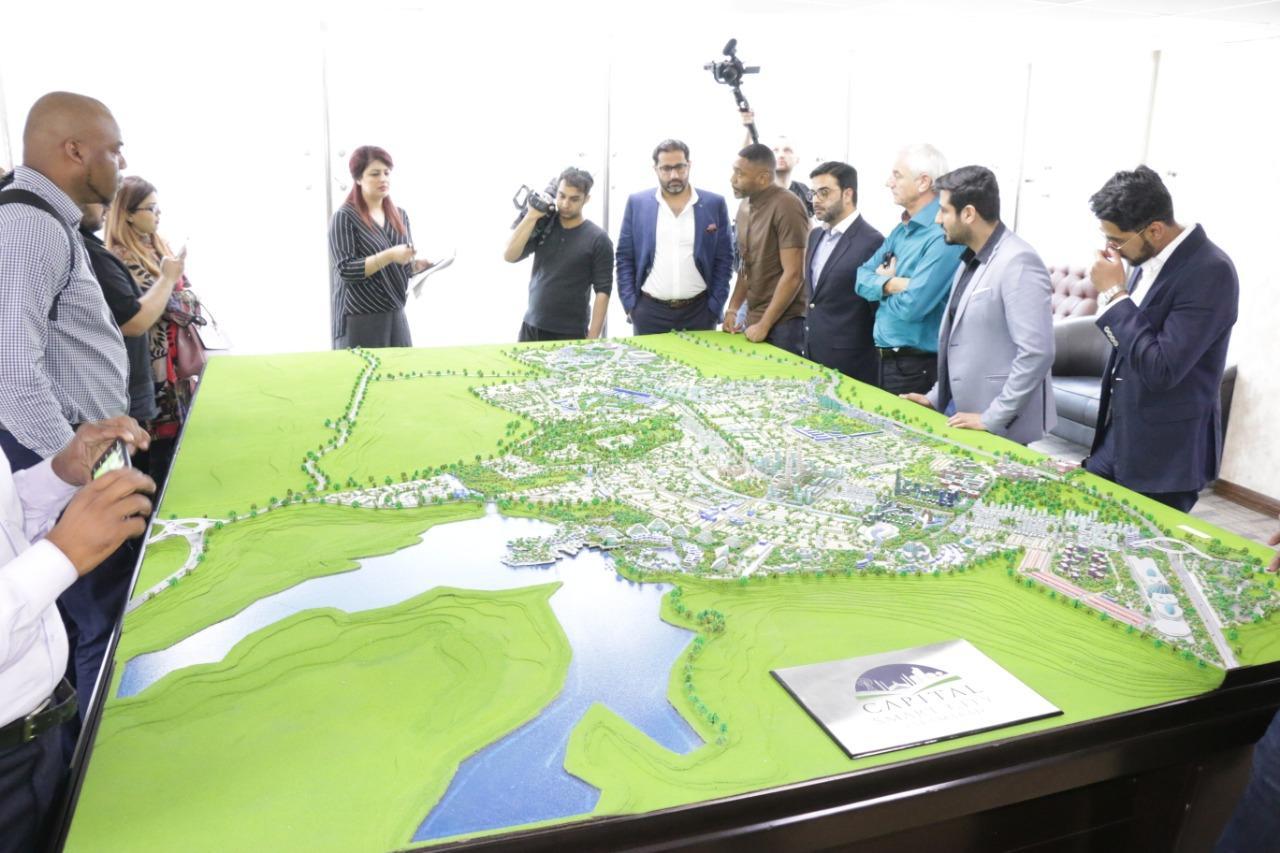 Exploring 3D Model of Capital Smart City