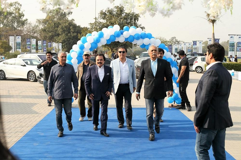 Arrival of Chairman Capital Smart City