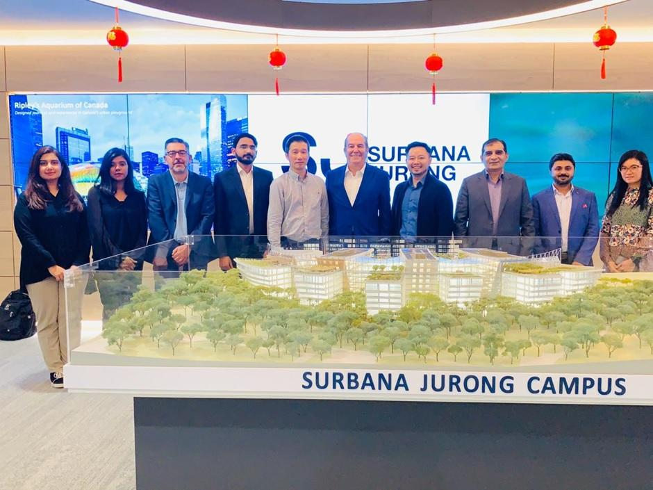 Team CSC / FDH / InfraTech Visits Singapore