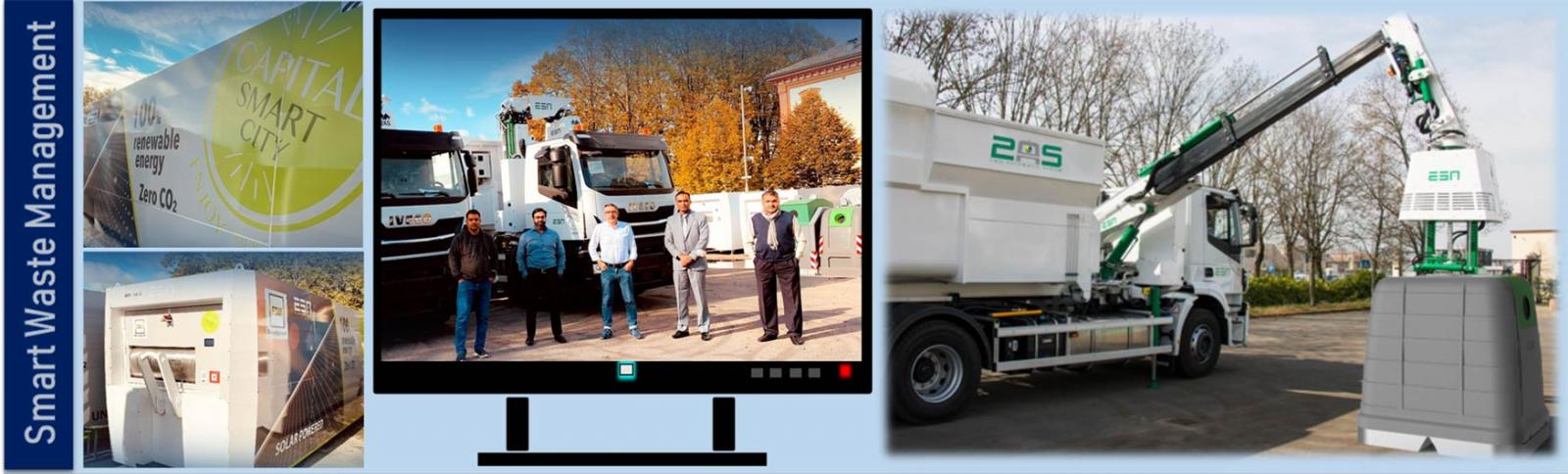 First order of Smart Waste Management System for Capital Smart City