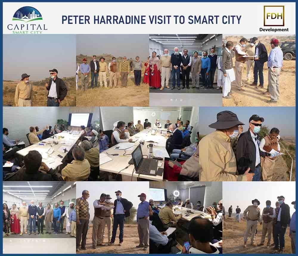 Peter Harradine Visit to Smart City
