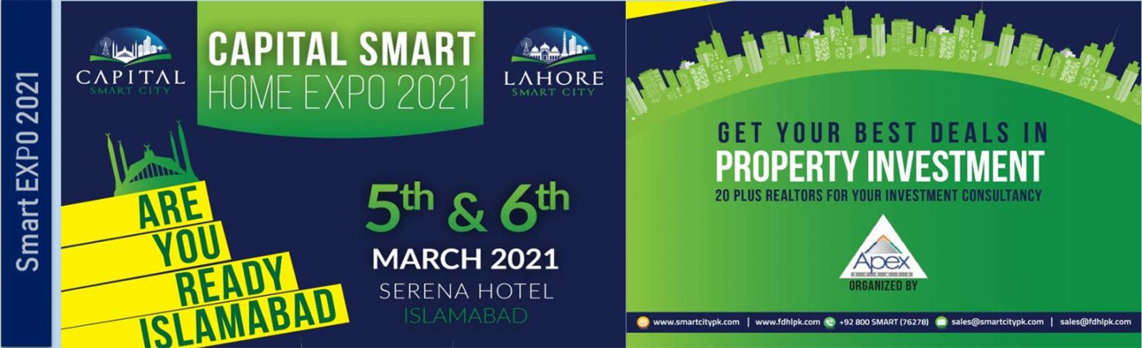Capital Smart Homes & Builders EXPO 2021