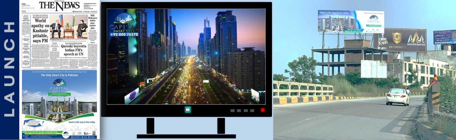 Now Launching Capital Smart City